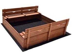 2つの変換可能なベンチを持つ子供Sandpit、Fsc、BSCI