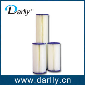 10  Cartucho do filtro de pregas de PP para tratamento RO