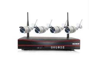 Promoción HD 720p/960p/1080P Wireless Kits CCTV DVR NVR completa del sistema DIY 4CH de la cámara IP WiFi