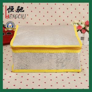 Bolsa de almuerzo aislados de impresión personalizada 420d almuerzo bolsas refrigerador
