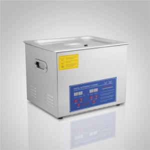 Un pulitore ultrasonico di 15 di litro dell'acciaio inossidabile W/Timer dei monili Digitahi di vetro