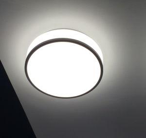 9pouce surface ronde acrylique lampe LED pour montage au plafond