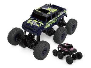 968612b-Big 2.4G elétrico 6 Wd carro plástico controle remoto off-road veículo brinquedos RC Truck