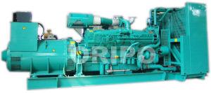 AC 1250kVA Trifásico generador de energía eléctrica con motor Cummins