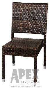 Mobiliário de Jardim Bistro móveis de vime Mobiliário Cadeira de vime (como1043AR)