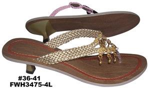 Lady's Shoes (FWH3475-4L)