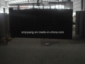 De natuurlijke Steen Opgepoetste Zwarte Bovenkant van de Ijdelheid van het Graniet Shanxi (YQC)