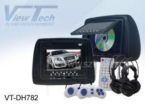 차 DVD Player - IR/FM/Game Function/SD/USB Reader (VT-DH782)를 가진 7 Inch Car Monitor