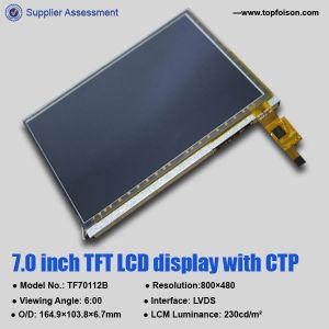 800*480 7.0 Anzeigen-Modul des Zoll-TFT LCD mit widerstrebendem/kapazitivem Touch Screen