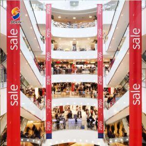 Цветной цифровой печати CMYK виниловом баннере, наружная реклама Пользовательское печать вывесок