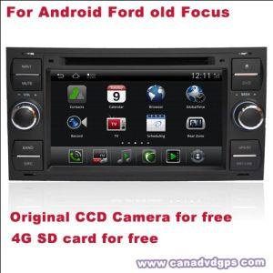 차 포드 초점을%s 자유로운 제일 질 제일 서비스 자유로운 Shipping+Gift를 위한 인조 인간 두 배 DIN DVD GPS DVR WiFi 3G CCD 사진기 SD 카드