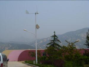 300w turbine éolienne et l'énergie solaire