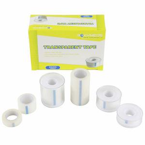 プラスチックカバーが付いている外科防水付着力のPEテープ
