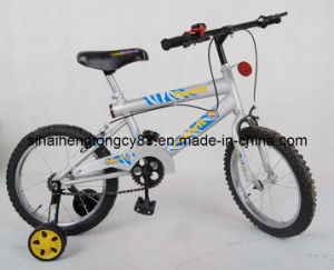 Blanco de 16 pulgadas Kid bicicletas para niños Kb-044
