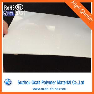 1mm het Glanzende Witte Plastic Stijve Blad van pvc voor Vacuüm die 3D Comité van de Muur vormen