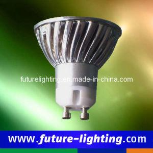 Punkt-Beleuchtung GU10 1x3W hohe Leistungedison-LED (FL-ESL1x3GU10WA4)