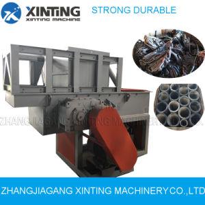 Los trozos de plástico/triturador de tubos de diámetro grande