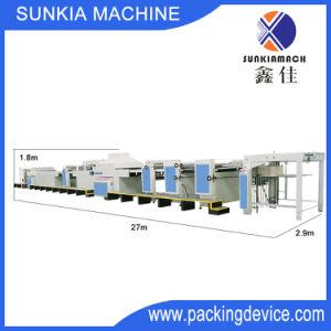 En general barnizado UV automática Máquina con limpiador de polvo Xjt-4 (1450)