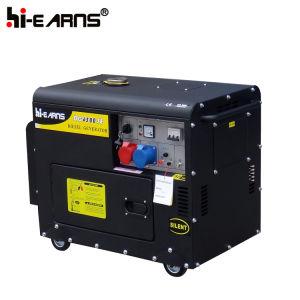 2-10kw conjunto gerador diesel/ Air-Cooled Gerador (DG6500SE)