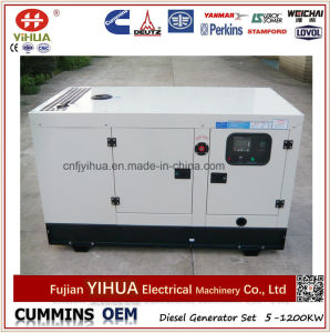 30kVA 24kw Silent Soundproof Canopy Fawde Xichai Diesel Generator