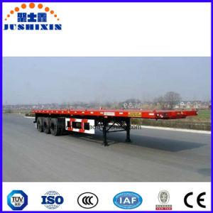 3 Eixo 40FT Container Flat-Bed Mesa veículo tractor de semi reboque