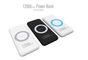 Banco de potencia con alta capacidad de energía móvil cargador portátil cargador USB Bank (QT2)