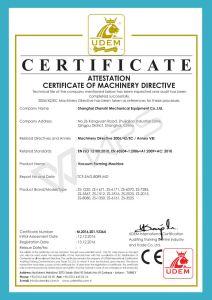 Zs-6191t Enige Post die Machine vormt