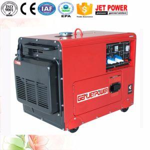 Stille Elektrische 5kw 6kw 7kw Lucht Gekoelde Diesel Draagbare Generator