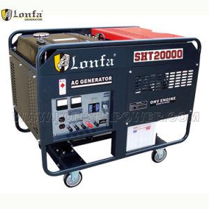 Doppio generatore della benzina del cilindro del professionista 10kw (V-Gemellare)