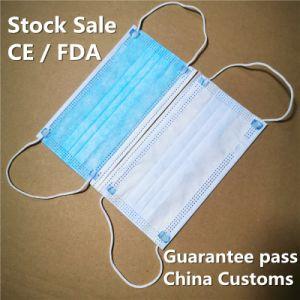 3ply Ault & enfants bleu ou blanc masque jetable médicaux jetables Ce masque chirurgical de la FDA