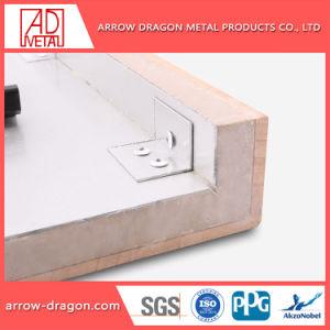 Placage de pierre calcaire insonorisées de l'aluminium panneau alvéolé pour salle de bains/ Flooring