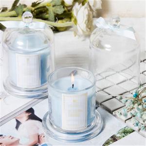 Luxry Geschenk-Kerze mit GlasParaffinwachs der kappen-50g