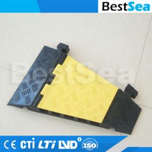 Doppelgummi-u. Plastikfußboden-Kabel-Graben-Deckel