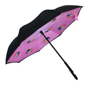 卸し売りCのハンドルの紫外線保護によって逆にされる子供の傘