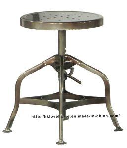 Ristorante classico industriale che pranza gli sgabelli di barra di Toledo Conuter dell'annata del giardino
