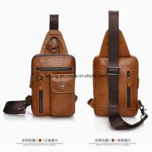 Lj1-016 Cattlehide Desporto Multifuncional Crossbody Shoulder-Bag homens bolsa em pele genuína