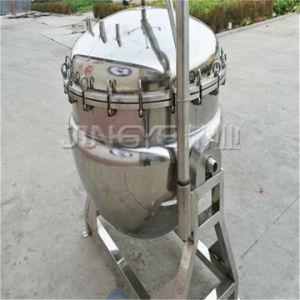 アジテータが付いている蒸気の高圧炊事道具を傾けること