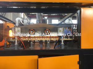 Semi-automático máquina de soplado de botellas de 6 cavidades para la fabricación de plástico pueden