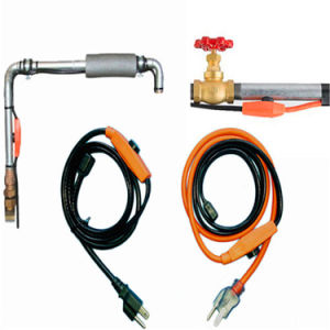 3FTの配水管の暖房ケーブルは管のヒーターケーブルの霜を取り除く