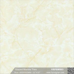 建築材料のフォーシャンの石造りの大理石の磨かれた床および壁のタイル(VRP8W897、800X800mm)