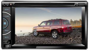 도매 유니버설 2 DIN 6.2 인치 접촉 스크린 차 다중 매체 오디오 DVD 플레이어