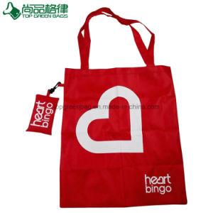 Förderndes Eco freundliches Polyester-Geschenk-Einkaufentote-Lebensmittelgeschäft-faltbarer Beutel