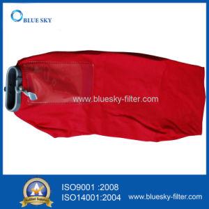 Sacchetto filtro rosso della polvere del panno per l'aspirapolvere