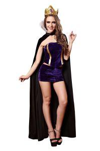 Commerce de gros femmes Sexy costume de la Reine Parti adulte Lingerie Sexy Hot lingerie sexy nuisette