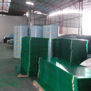 工場直売の緑ポリカーボネートの双生児の壁の空のボード
