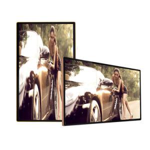 55  실내 주문을 받아서 만들어진 광고 디지털 Signage LCD 스크린 광고 전시