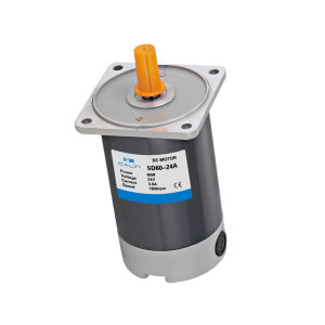 DC Motor reductor (90mm) ,40-245D / 5GN gn 25K, 24VCC Motor, Motor eléctrico 40W
