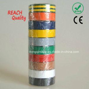 De kleurrijke Zelfklevende Band Van uitstekende kwaliteit van de Isolatie van pvc Elektro Standaard Zwarte Elektro