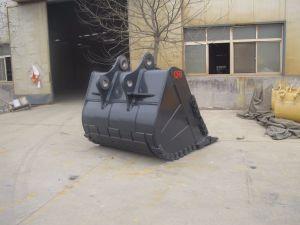 Aufbau-Maschinerie-Exkavator-passen sich Hochleistungsfelsen-Wanne für KOMATSU/Gleiskettenfahrzeug/Volvo an