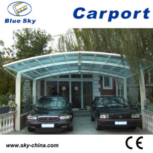 La certificación CE Aparcamiento Carports de aluminio B810)